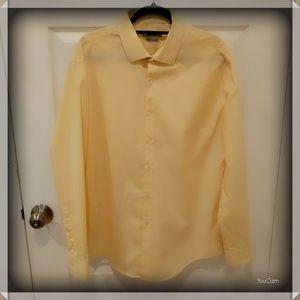 DKNY Dress Shirt - Yellow